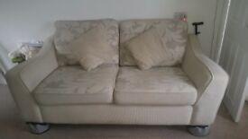 Sofa, Swivel Chair & Footstool