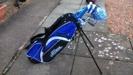 John Letters Swingmaster Junior Golf Set
