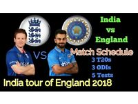 England v/s India 1st T20 at Manchester on 3rd July 2018