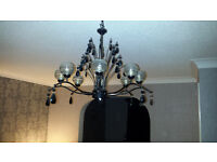 lounge light fitting...great condition...uses 8 G9 bulbs