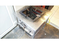 Single hob commercial gas cooker