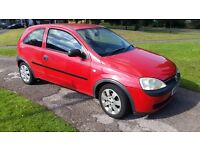 02 Vauxhall Corsa 1.0 12v New MOT Fresh Service 116k Miles 4 Owners Clean Car Pioneer Stereo Aux USB