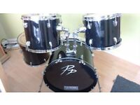 drum set for sale with cymbals (Mapex, Sabian, Pearl) cheap, bargain price.