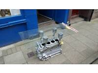 Coffee table Land rover series 2a engine block