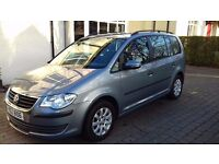 Volkswagen Touran - 1.6S Petrol 2009 7 Seater Good condition FSH low mileage
