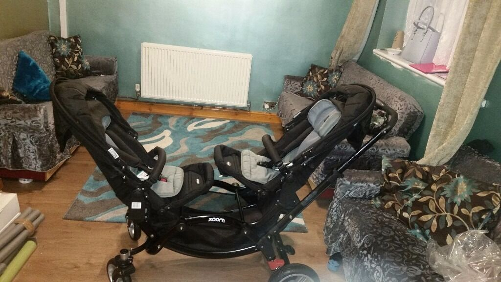 Obaby twin pram/ push chair (new)for sale
