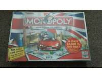 Monopoly Here & Now UK Edition Board Game Brand New Unopened