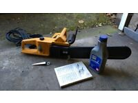 Husqvarna EM235 Electric Chainsaw 40cm - plus oil, spanner and instructions