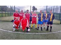 Senior 5 a Side Football.