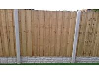 6ftx5ft Pressure Treated & Tanilized Double Lap Fence Panels -----£22------