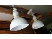 Industrial design white lights
