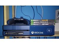 XBOX ONE Console Forza Motorsport Limited Edition. 3 Games, Halo 5, Guitar Hero, Just Cause 3.