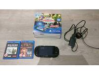 PS Vita Slim, With Games, Box and 8GB card