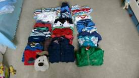 Bundle of boy's clothes 6-18 months