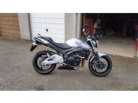 Suzuki GSR600, 2010, 6800 miles, 1 year MOT. Like new!!