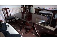 Dining table and chairs- Immaculate condition