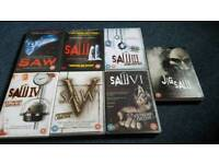 """""""Saw"""" DVD whole collection"""