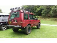 Landrover discovery roof rack butter mounted