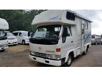 2000 TOYOTA CAMROAD 6 BERTH MOTORHOME AUTOMATIC 2WD HIACE CAMPERVAN