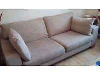Large 'Next Sonoma' Sofa. Good Condition. Smoke and Pet free home.