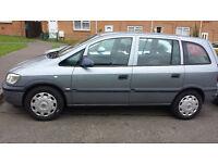 2004 Vauxhall Zafira Life 7 Seater
