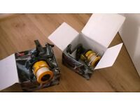 fishing reels x 2 boxed used £5 for both fqs