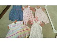 Baby Girl Clothes 0-6 months