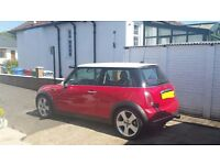 2005 mini cooper 1.6 with reconditioned engine