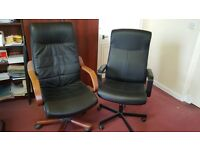 Extended Back Executive Office Chairs