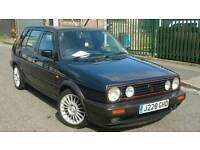 BARGAIN RETRO CLASSIC CAR GOLF GTI 1.8, J REG 1991 ALLOYS WITH GOOD TYRES
