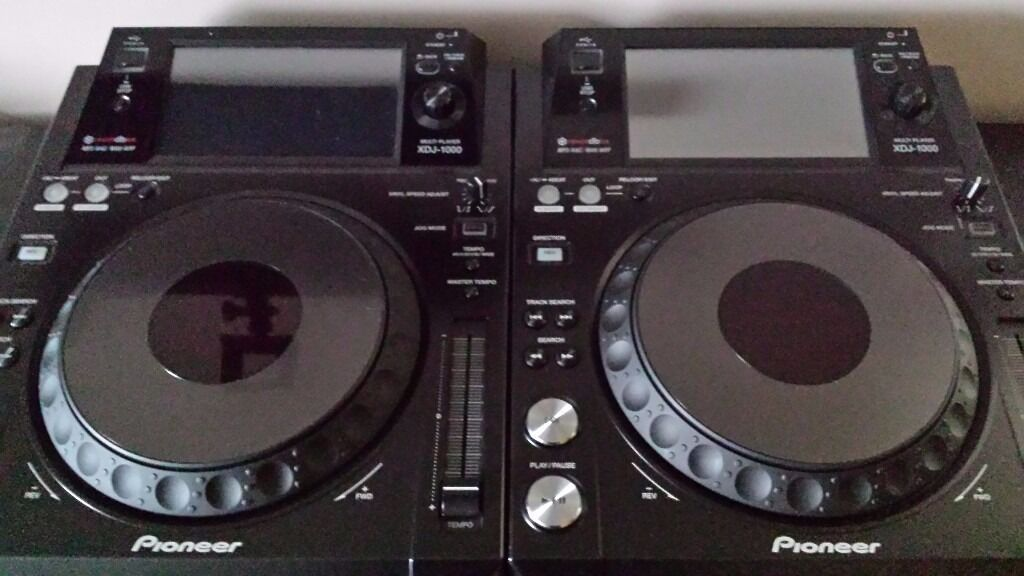 Pioneer XDJ-1000 x2 Pristine Condition- Only 3 Months Old L@@k