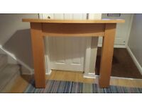 Fire Surround - Beech Effect (Used)
