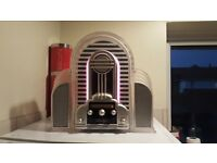 Retro Marilyn illuminated FM Radio.