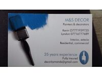 Paint and decorators