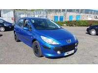 2007 (07 Reg) Peugeot 307 1.4 16v S 5dr For Sale, £595, 12 Months Mot on Sale