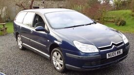 2005 Citroen C5 estate diesel, bargain to clear, drives ok