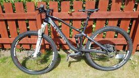2014 Canyon Nerve AL 6.0 full suspension mountain bike