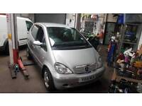 Mercedes A170 cdi breaking all parts available