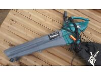 Black and Decker Leaf Blower and Vacuum 1800 Watt Powerbase - electric