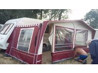 Touring caravan compass corona 524 2005 four berth