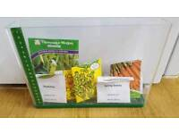 Creative sprouts indoor vegetable planting box + variety of seeds