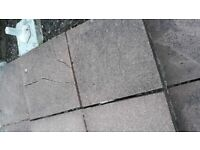 WANTED Red riven 2x2 foot paving slabs
