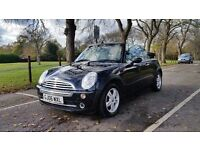 MINI ONE 1600cc 2006 CONVERTIBLE 3P/LADY OWNERS 79000 MILES MAIN DEALER SERVICEHISTORY AIRCON ALLOYS