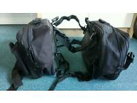 Oxford soft expandable motorcycle panniers