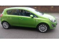 vauxhall corsa 64 plate 2014 1.4cc 5 doors excellent condition two set of keys air con
