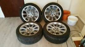 Genuine 18'' 5 6 7 Series M Sport Alloys E60 E61 F30 F31 E90 E91