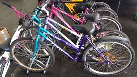 MOUNTAIN BIKES-RACERS RACING BIKES-HYBRID BIKES - AVAILABLE FOR SALE-MASSIVE JANUARY DISCOUNTS