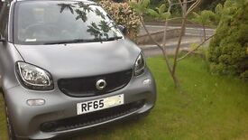 Smart fortwo 65 plate