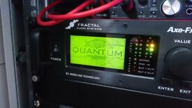FRACTAL AUDIO AXE FX 2 II + FLIGHT CASE + MANUAL + LOADS OF PRESETS