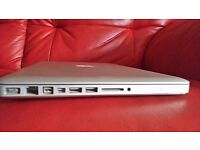 APPLE MACBOOK PRO 2010/11 INTEL CORE 2 DUO 2.4GHZ 4GB RAM 250GB HDD WIFI WEBCAM OS X